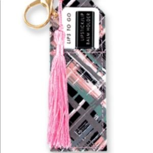Olivia Moss lip balm key chain